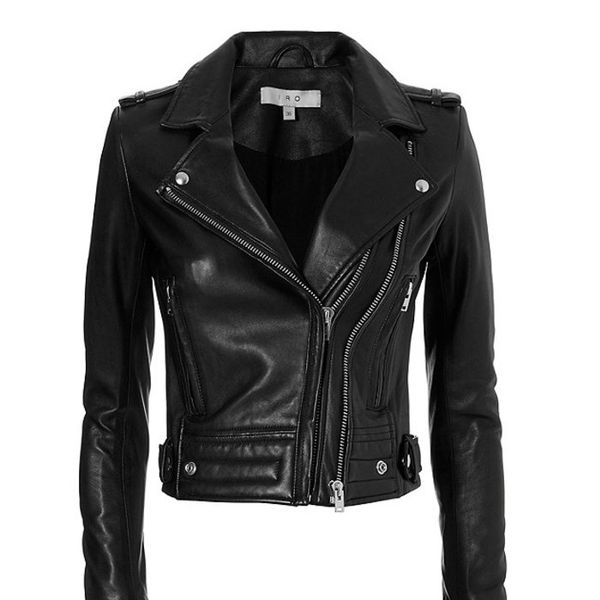 IRO Ashville Leather Biker Jacket