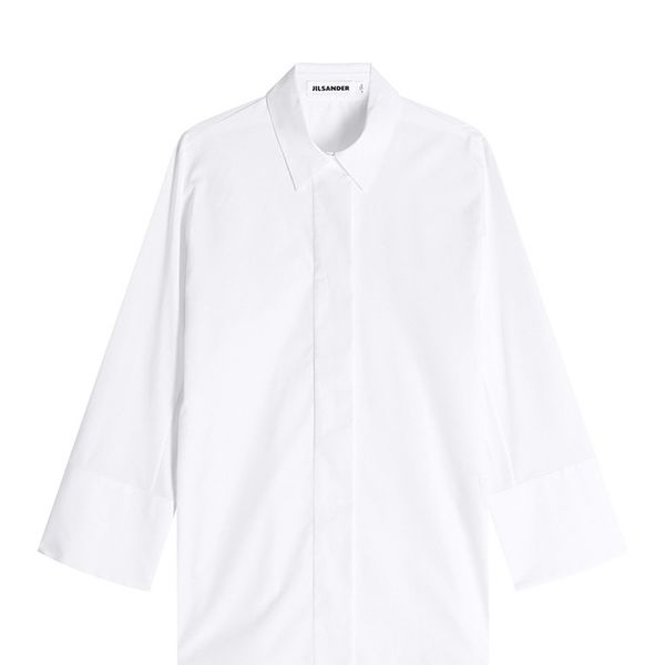 Jil Sander Cotton Button Down Shirt