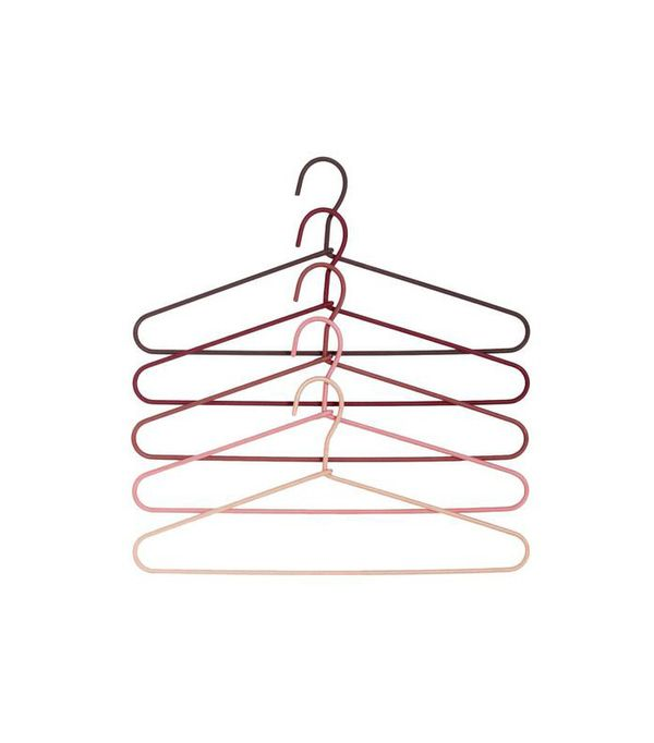 how to organize a small bedroom — hangers