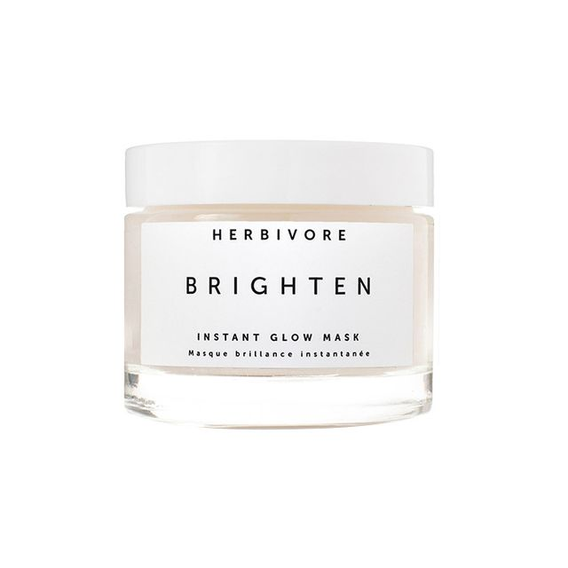 Herbivore Brighten Pineapple Enzyme Gemstone Instant Glow Mask - How to Get Glowy Skin