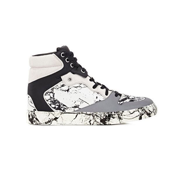 Balenciaga Terrazzo-Marble-Print Sneakers