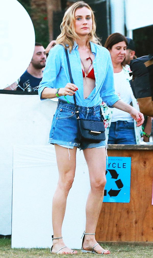 diane kruger coachella outfit