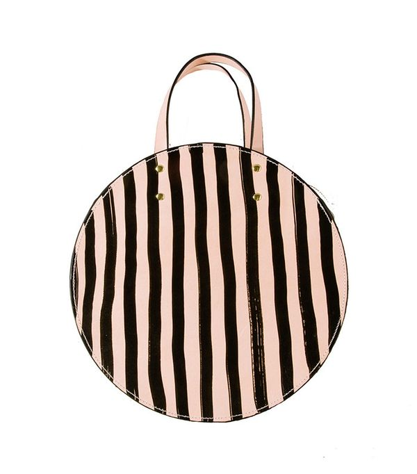 best circle handbag- Ann Howell Bullard The Black Keys Circle Bag
