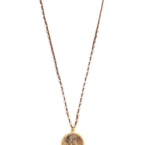 Roman Fortuna Coin Necklace