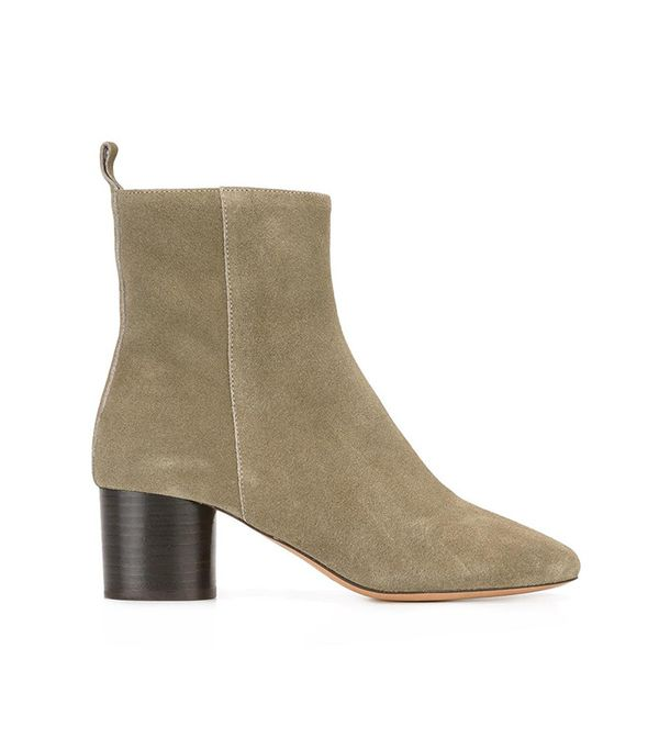 best suede ankle boots- isabel marant Deyissa