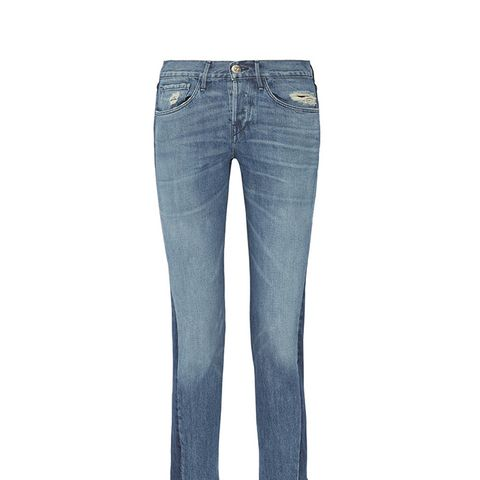 Von Cropped Mid-Rise Straight-Leg Jeans