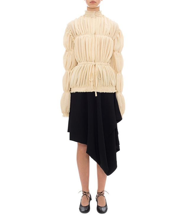 summer fashion trends - J.W.Anderson Pleated Gauze Jacket