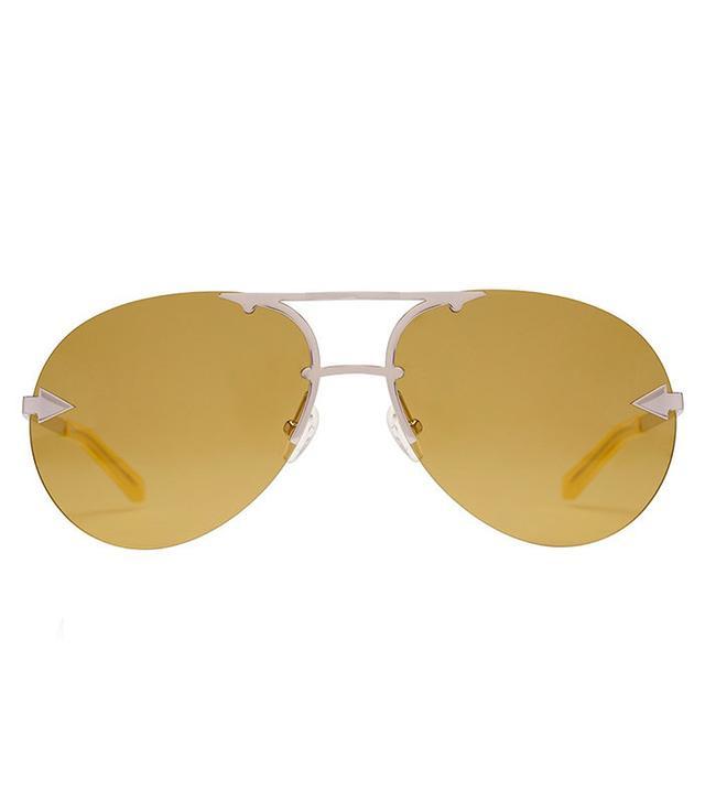 summer fashion trends - Karen Walker Love Hangover Marigold Sunglasses