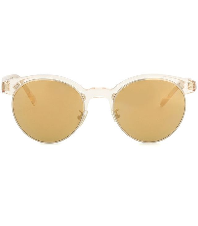 summer fashion trends - Oliver Peoples Ezelle Browline Sunglasses