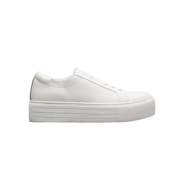 Kenneth Cole Abbey Leather Platform Sneaker