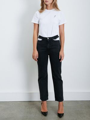Found: The Coolest Pair of Black Jeans You'll See All Year