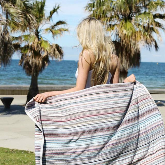 Canningvale Eco Stripe Towel