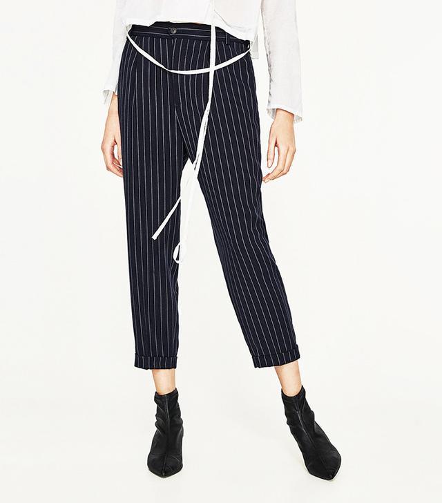 best pinstripe trousers