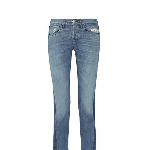 Von Cropped Mid-Rise Straight-Leg Jeans