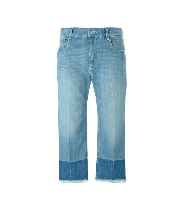 best two-tone jeans - Étoile Isabel Marant Pryam Two-Tone Jeans