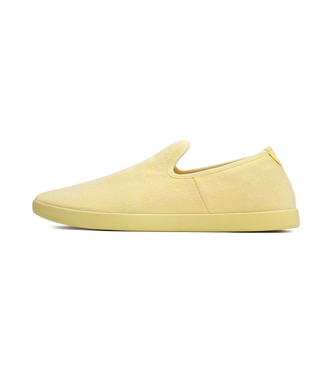 Allbirds Wool Lounger in Lemon