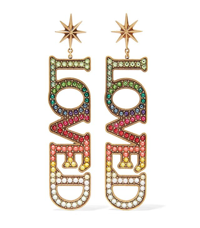 gucci love earrings
