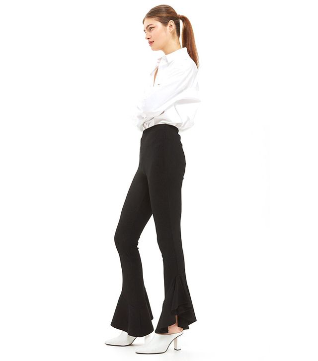best black flare pants