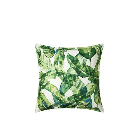 Oversized Banana Leaf Throw Pillow