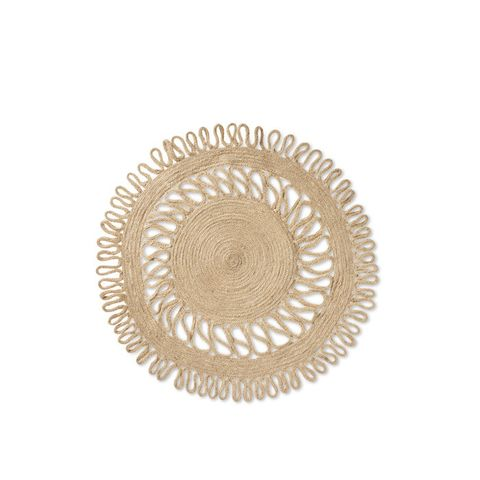 Natural Kitchen Textiles Decorative Charger