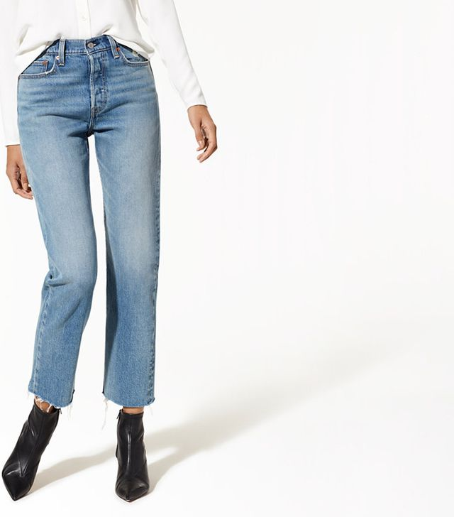 Levi's  Striaght Wedgie Jeans
