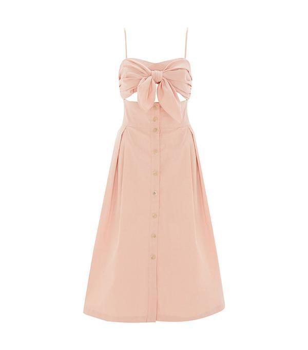best pink midi dress