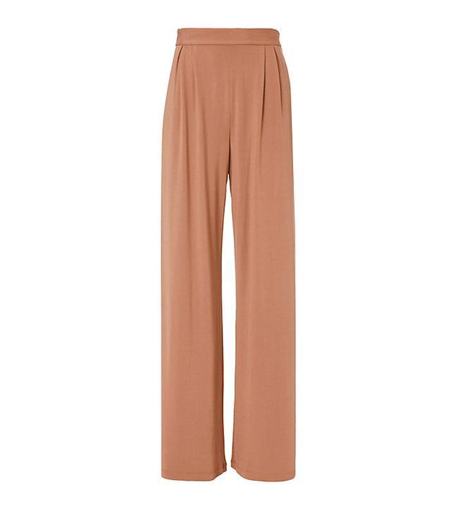 Fleur du Mal Fox Silk-Lined Pants