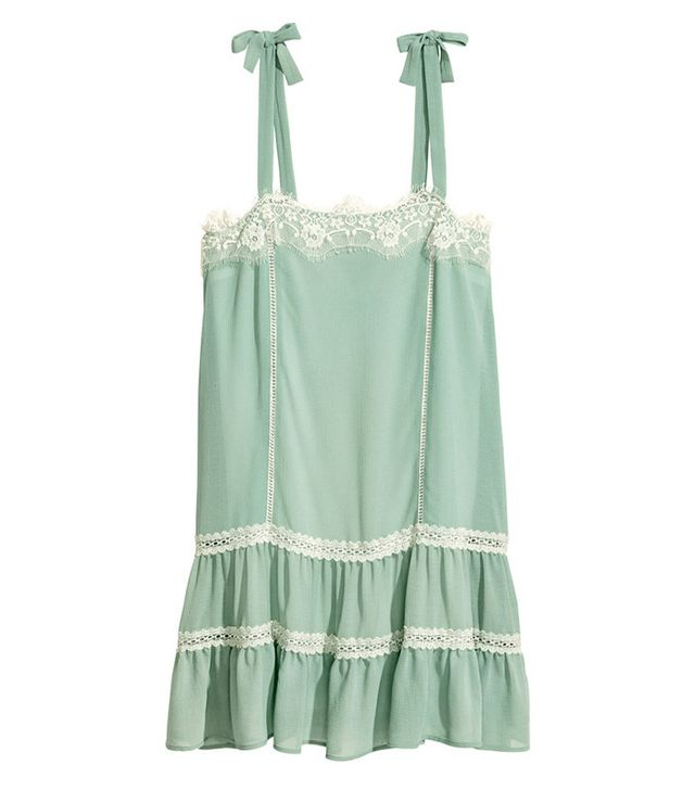 H&M Sleeveless Dress with Lace