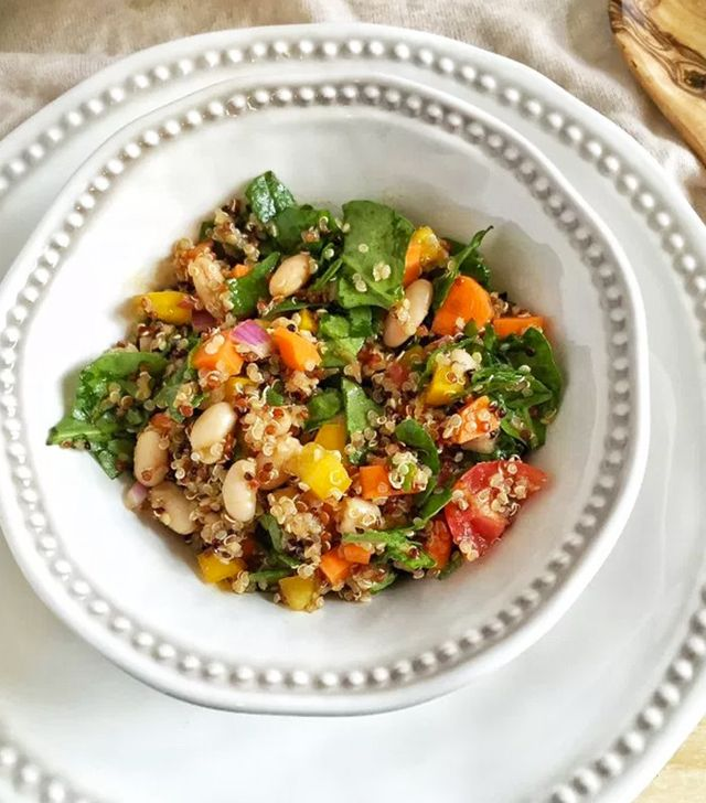 Quinoa Salad - How to Eat Vegan for Cheap