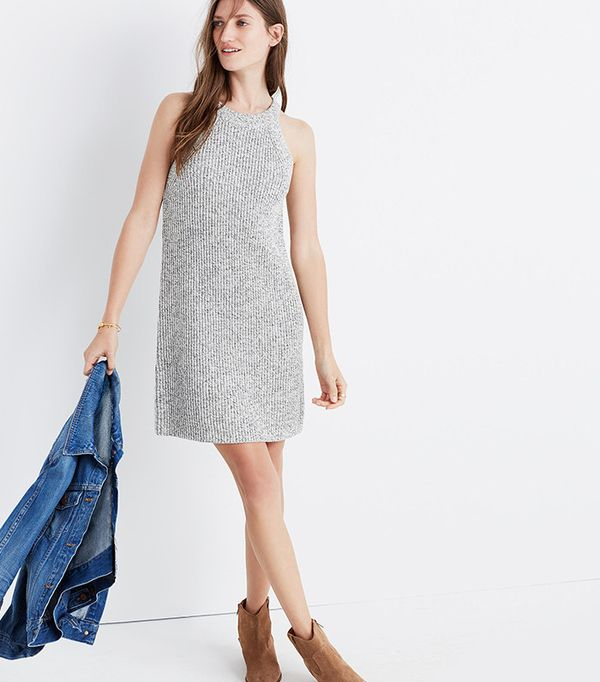 best sweater dress- Madewell valley sweater dress
