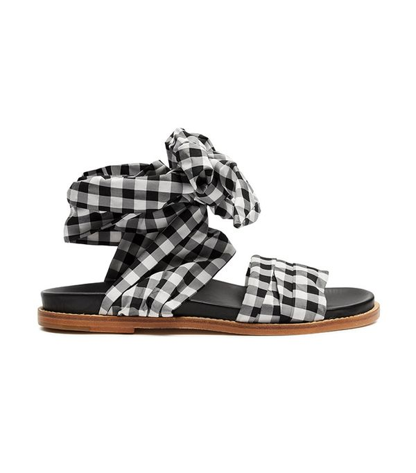 best gingham sandals- Marques'Almeida