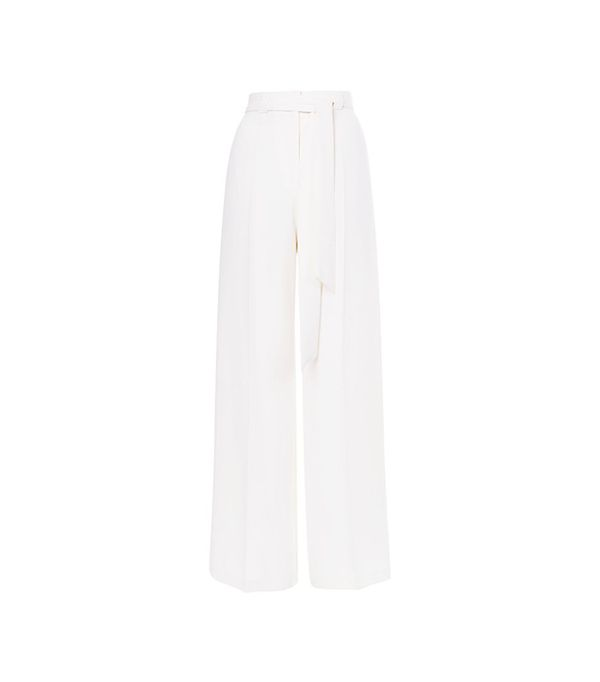 Topshop Open Back Wide Leg Trousers