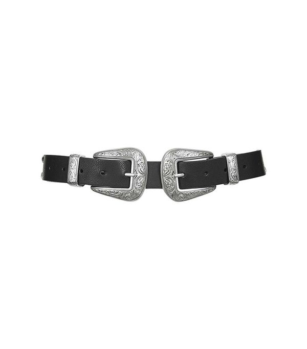 Topshop Double Buckle Western Belt
