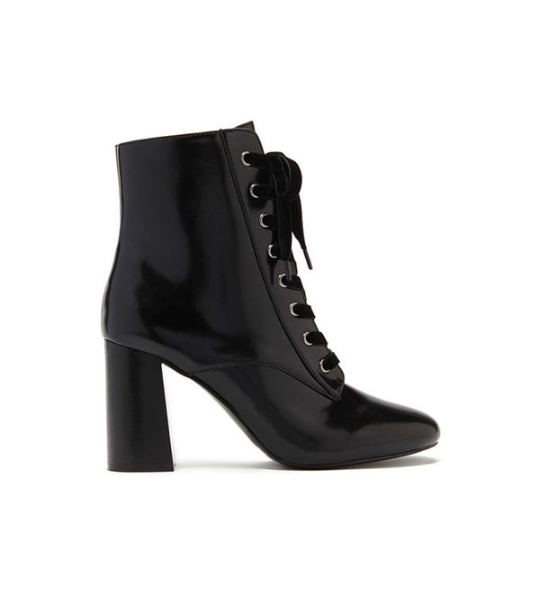 Forever 21 Lace-Up Ankle Boots