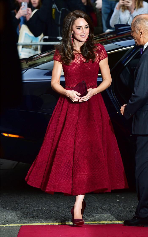 Duchess of Cambridge statement earrings