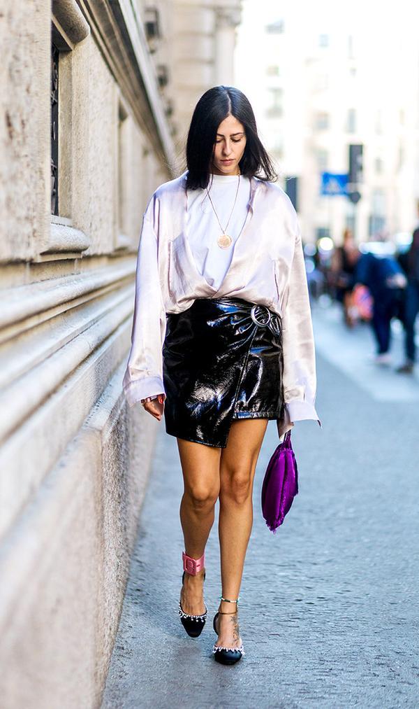 cute tshirt outfits - Gilda Ambrosio