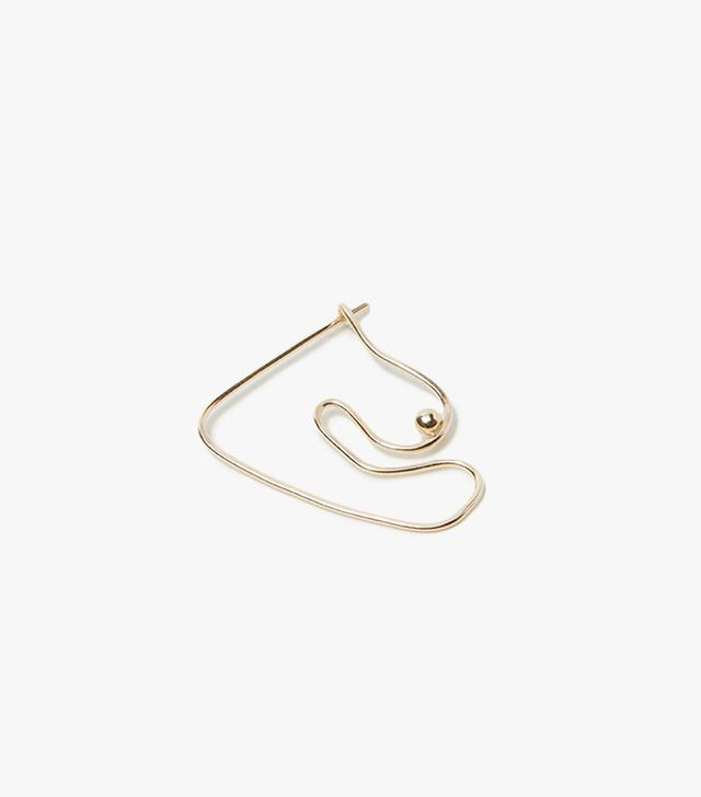 Knobbly Studio Deconstructed Nude Earrings