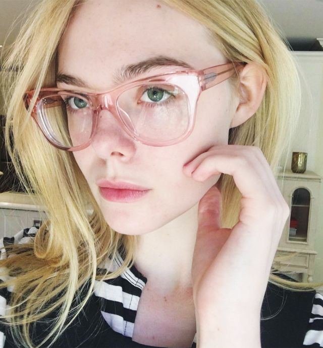 How to find the perfect glasses: Elle Fanning
