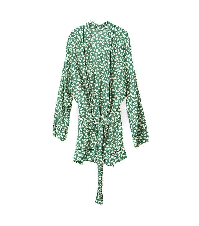 French girl wardrobe - Ganni Dalton Crepe Kimono