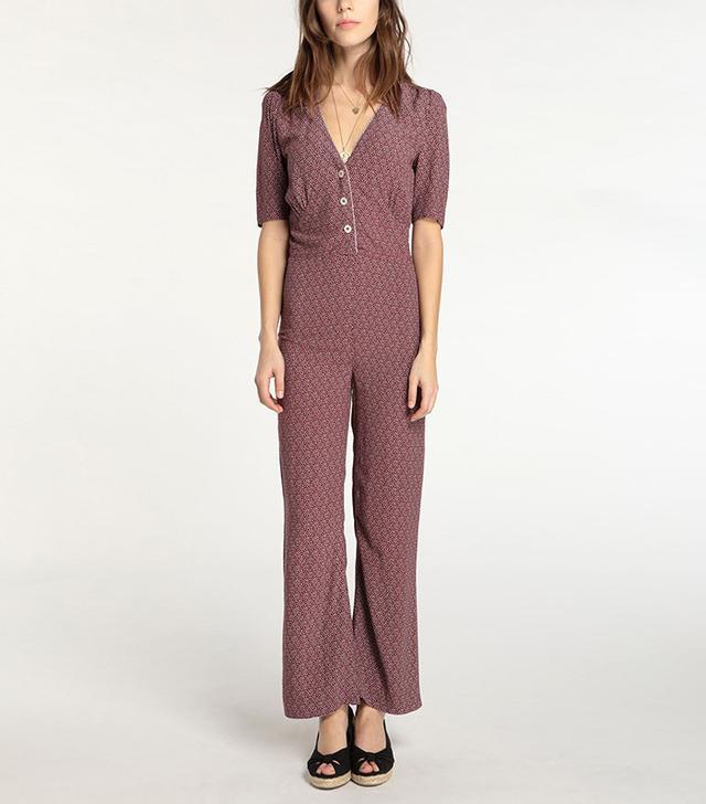 French girl wardrobe - Rouje Lolo Jumpsuit