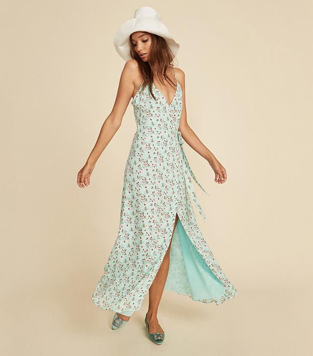 French girl wardrobe - LPA Floral Dress 138