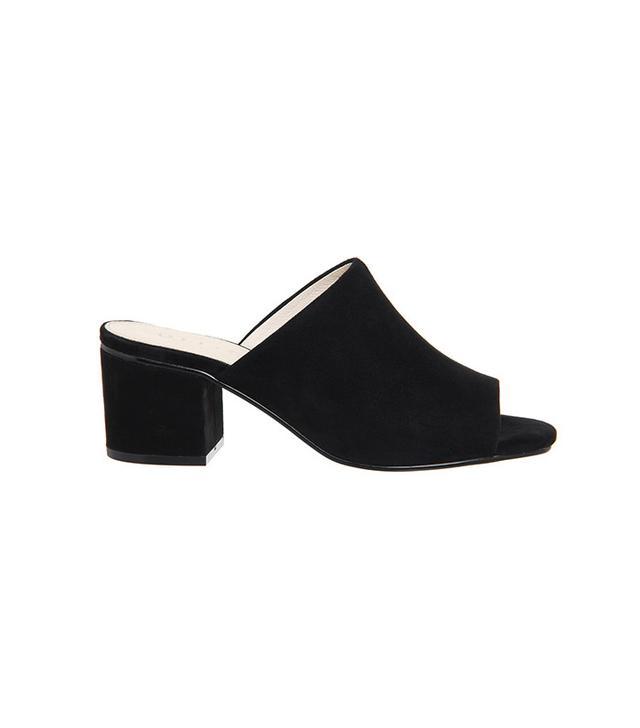 French girl wardrobe - Office Madness Block Heel Mules