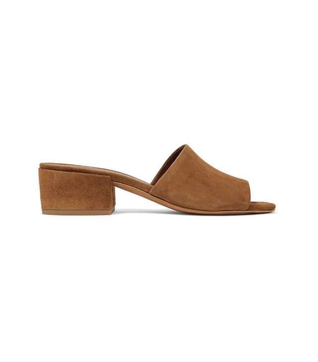 French girl wardrobe - Vince Rachelle 2 Suede Sandals