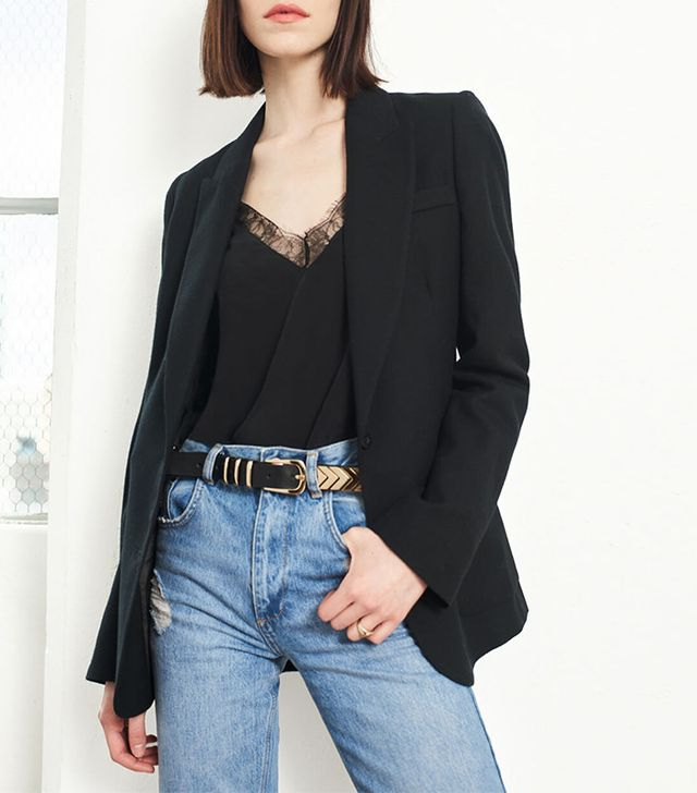 French girl wardrobe - Anine Bing Classic Fit Blazer