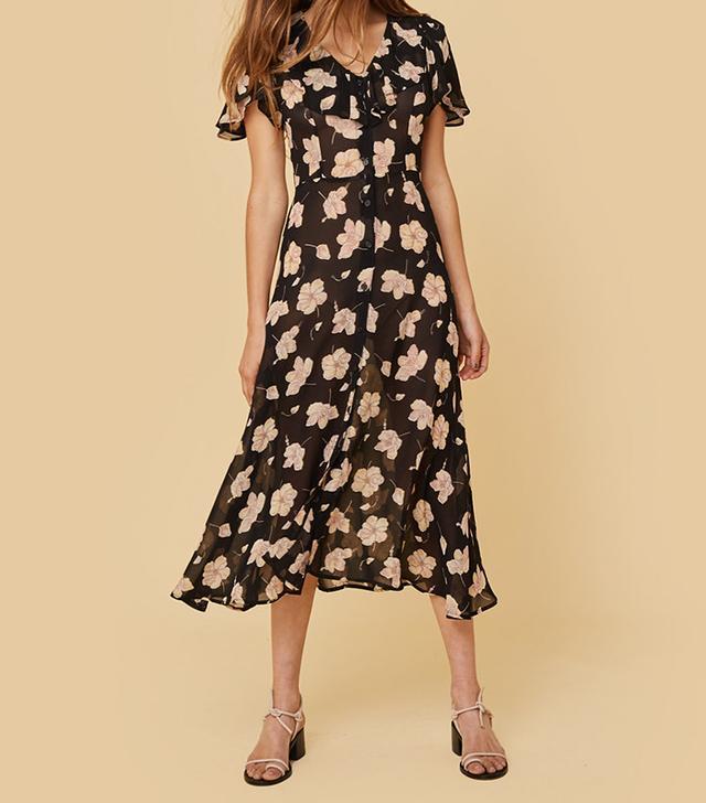 French girl wardrobe - Christy Dawn Daisy Dress