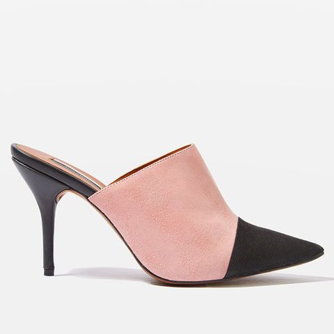 Gwen2 Pointed Toe Cap Mules