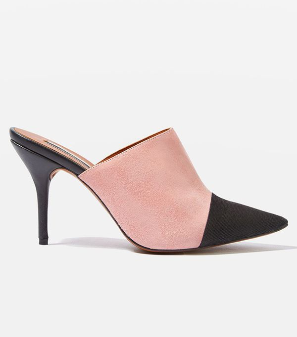 how to wear a sheer top - Topshop Gwen2 Pointed Toe Cap Mules