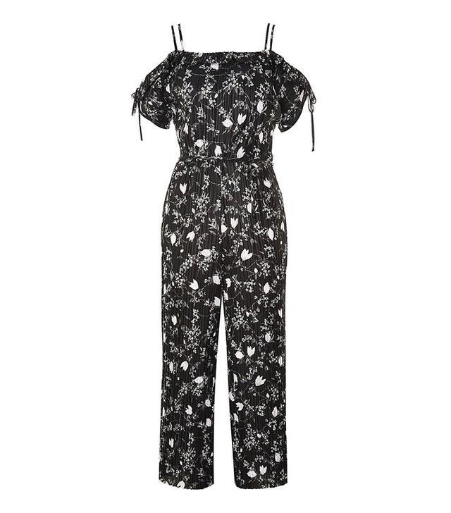 Topshop Blossom Print Jumpsuit