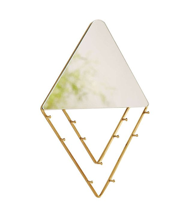 Jewelry Storage Hanging Mirror