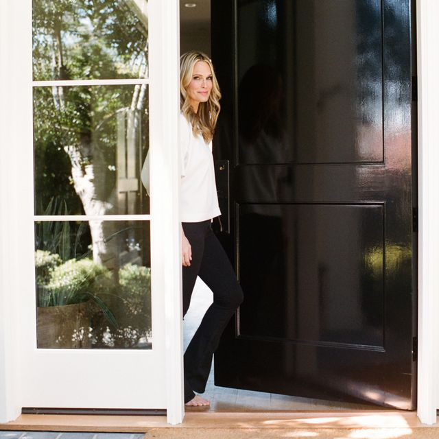 Step Inside Supermodel Molly Sims's Airy, Light-Filled L.A. Home